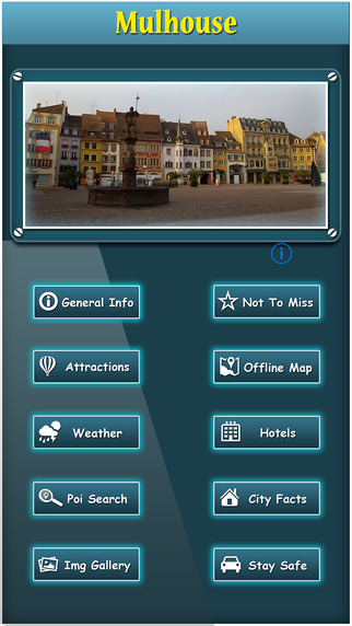 Mulhouse Offline Map Travel Guide