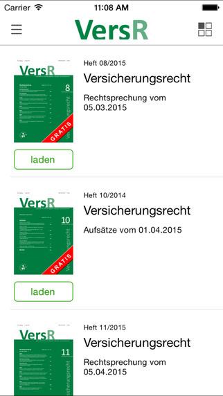 VersR – Zeitschrift Versicherungsrecht