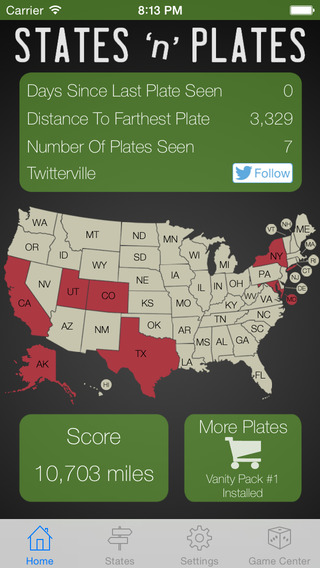 States And Plates Free A License Plate Game
