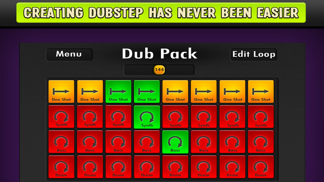 Dubstep Dub Pads - Skrillex style Audio Music Maker and Loop Creator