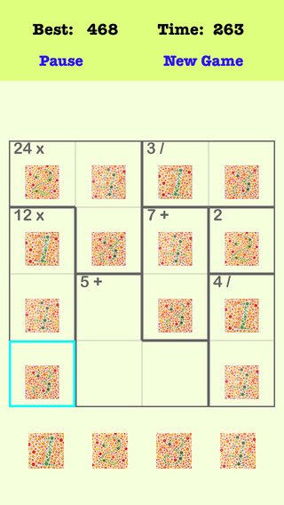 Are You Clever Color Blind 4X4 Puzzle Pro
