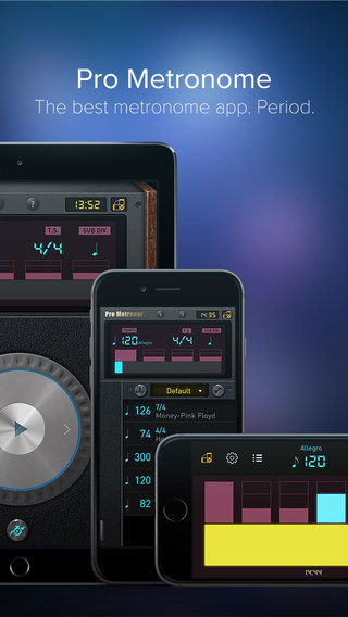 Pro Metronome - Tempo Keeping with Beat Subdivision and Polyrhythm for Musicians