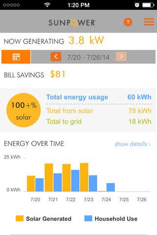 SunPower Customer Portal screenshot 1