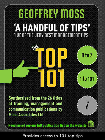 A HANDFUL OF TIPS – TOP 101 – GEOFFREY MOSS screenshot 1