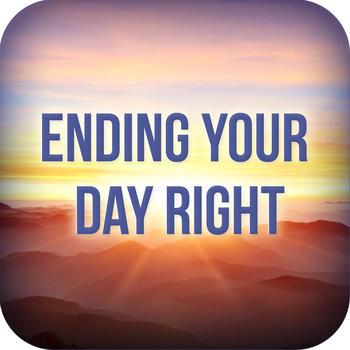 Ending Your Day Right Devotional LOGO-APP點子