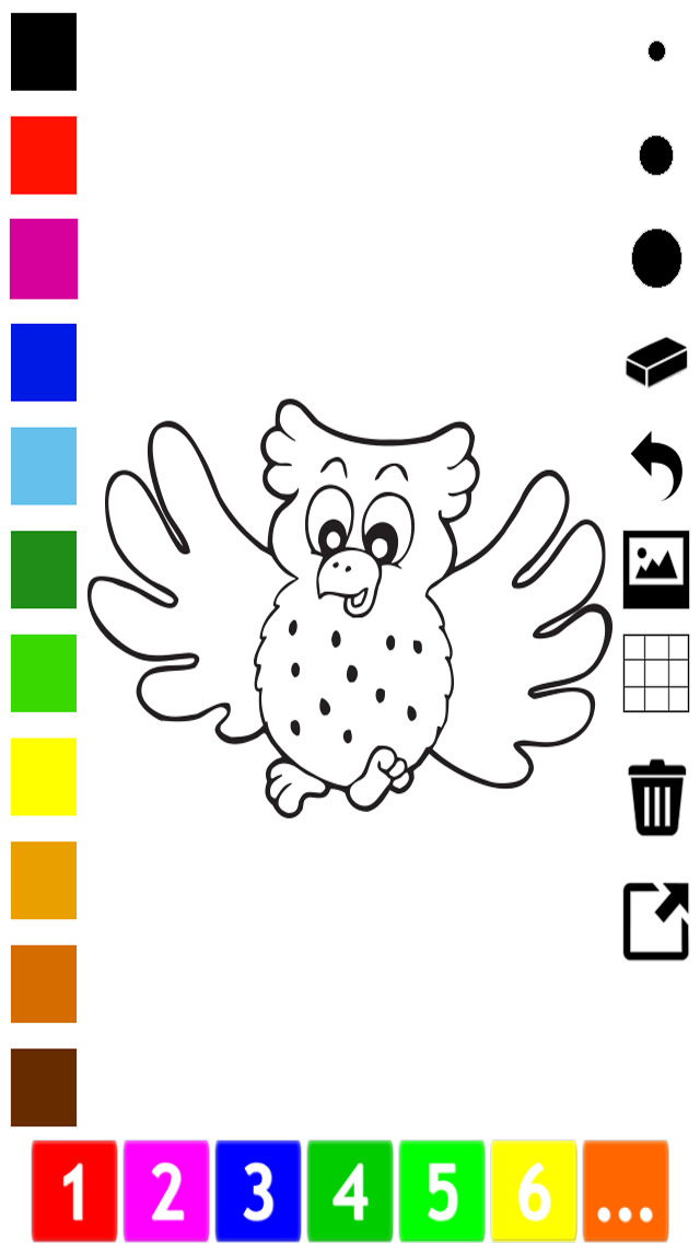 A Bird Coloring Book For Children Learn To Draw And Color Birdy