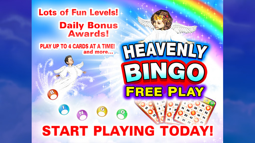 Heavenly Bingo FreePlay
