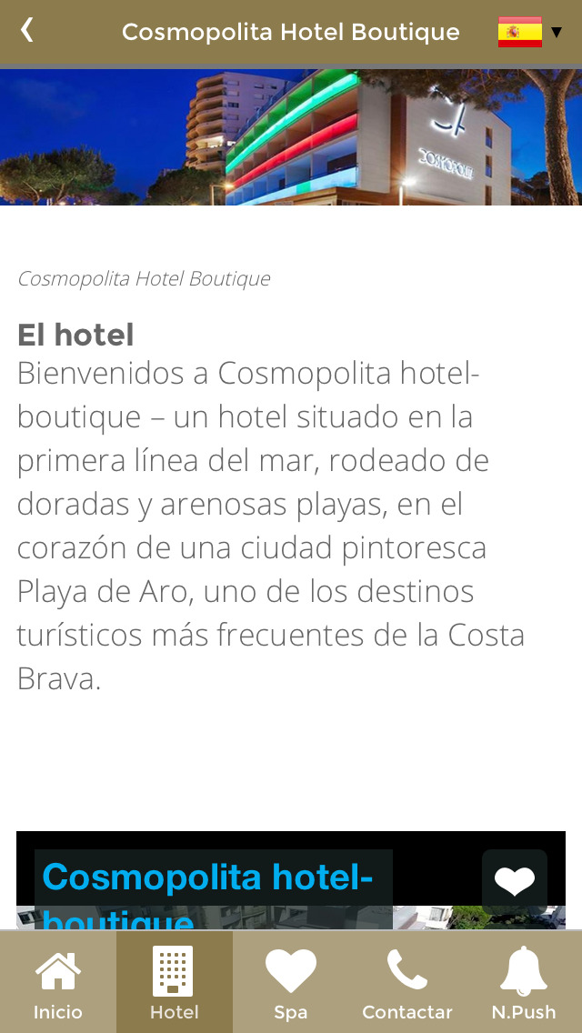 App shopper cosmopolita hotel boutique travel for 50 best boutique hotels in the med by the times 2015
