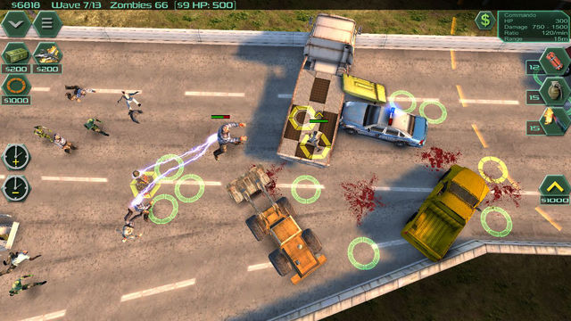 Zombie Defense: Modern RTS TD Hybrid
