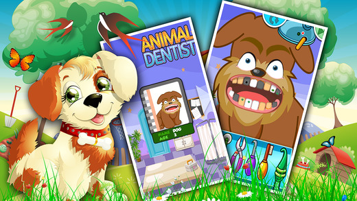 Animal-s Dentist 2 Doctor Old Vintage play Teeth Cleaning Online Brush Games for kids