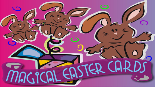 Magical Easter Cards