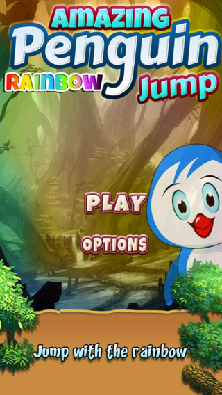Amazing Penguin Rainbow Jump Free
