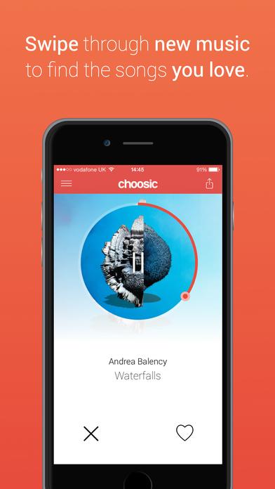 Choosic - Discover new music Screenshot
