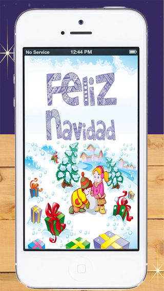 Christmas Cards in Spanish for kids - create Christmas cards - Premium