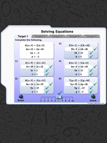Maths Workout - Solving Equations 2