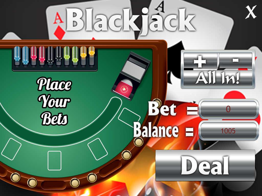 Electronic blackjack odds