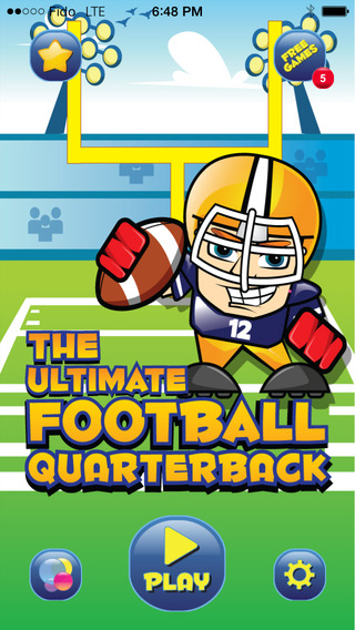 Football - The Ultimate Football Quarterback soccer 2014