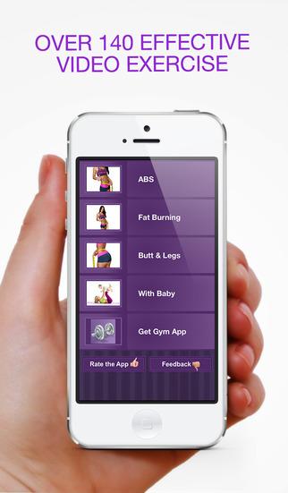 Women Home Fitness – Ежедневные Упражнения Тела Скриншоты5