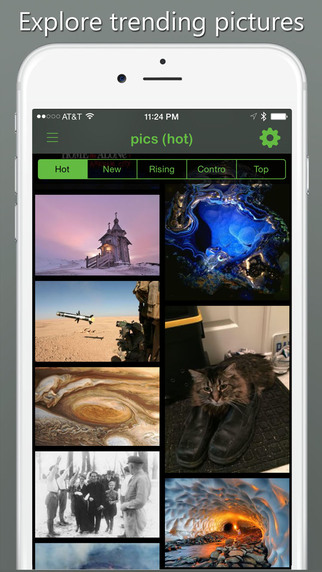 Time for Pictures - the best photo gallery client for reddit
