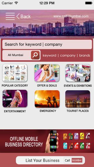 Call Mumbai Offline Business Directory