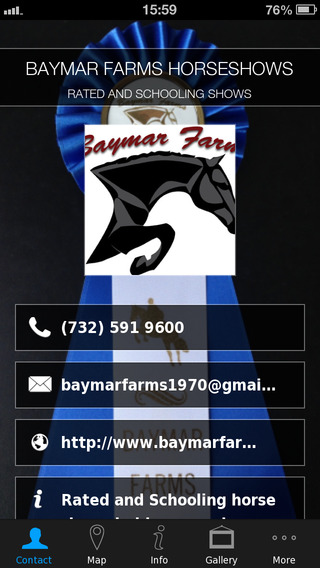 BAYMAR FARMS HORSESHOWS