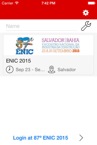 87º ENIC 2015 screenshot 1
