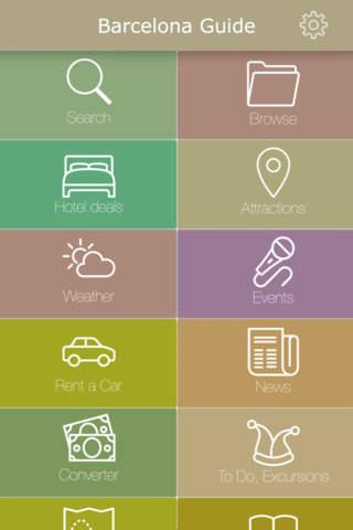 Barcelona Guide. Events, Weather, Restaurants & Hotels screenshot 1