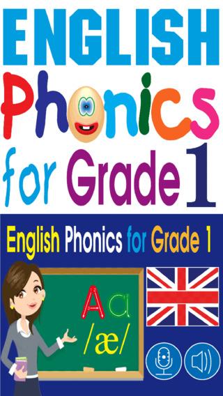 English Phonics for Grade 1
