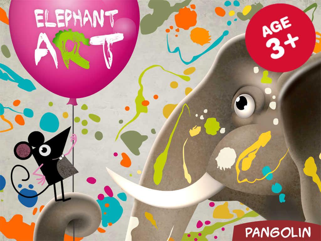 App Shopper Elephant Art Painting Room Hd Education
