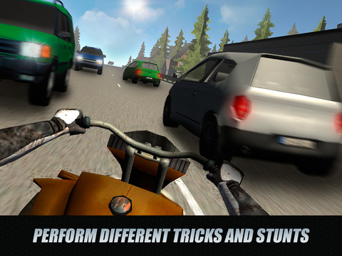 City Traffic Rider 3D: ATV Racing Full Screenshots