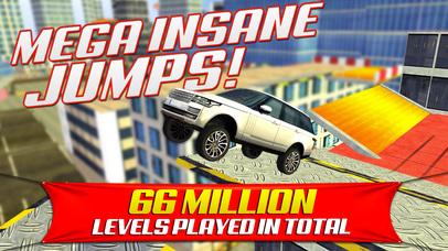 Screenshots of Roof Jumping Stunt Driving Parking Simulator - Real Car Racing Test Sim Run Race Games for iPhone