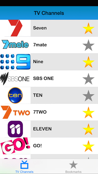 Australia TV listings : Television program live