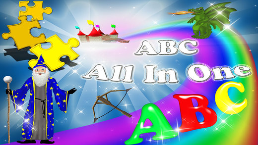 ABC Fun Magical Alphabet Letters All In One Games Collection