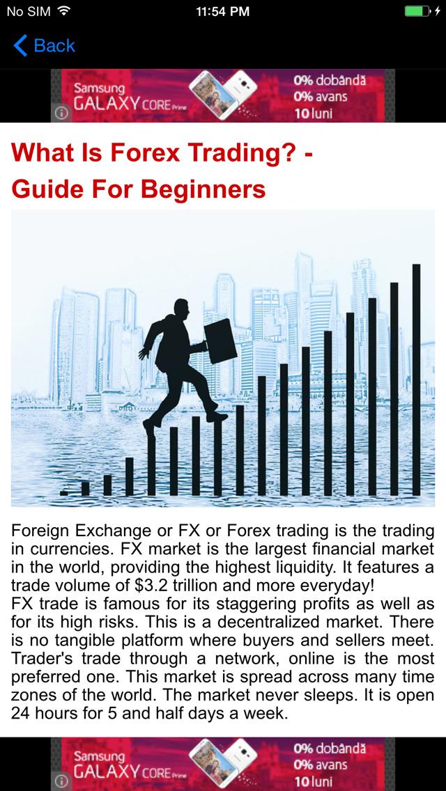 Forex trading information beginner