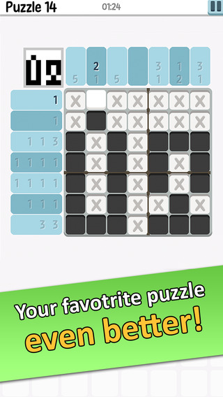 Logic Pic+ Free Nonogram Hanjie or Picross Picture Puzzles