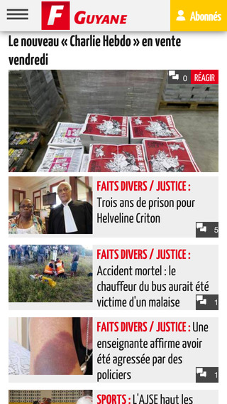 France Guyane Mobile