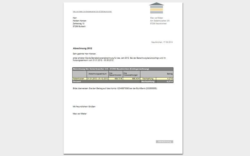WISO vermieter Screenshot - 5