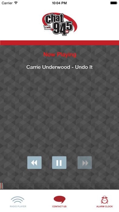 CHAT 94.5 FM iPhone Screenshot 1