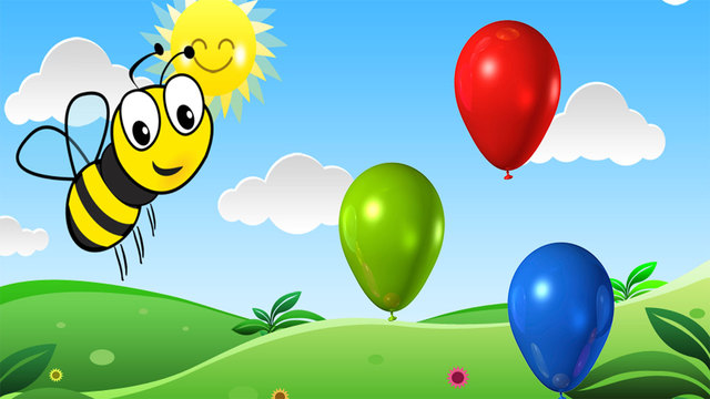 Balloon Pop For Kids free