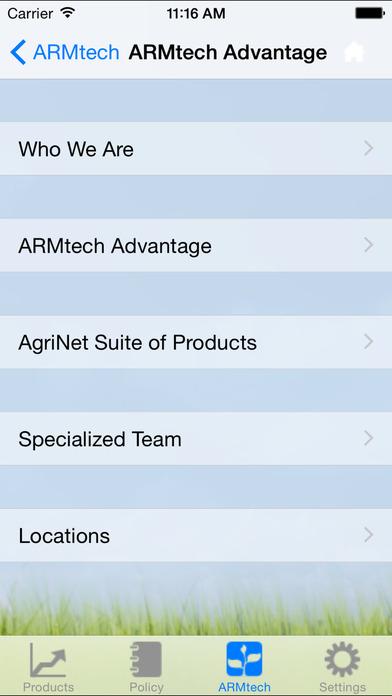 ARMtech iPhone Screenshot 3