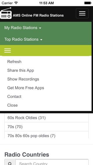 AMS Internet Radio Stations