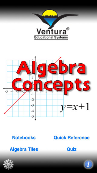 Algebra Concepts iPhone Screenshot 2