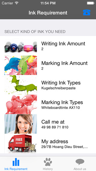 Dokumental Ink Supplier Germany