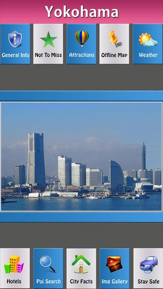 Yokohama Offline Map City Guide