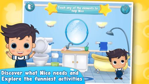 Nico Explore your Bathroom - Potty Time