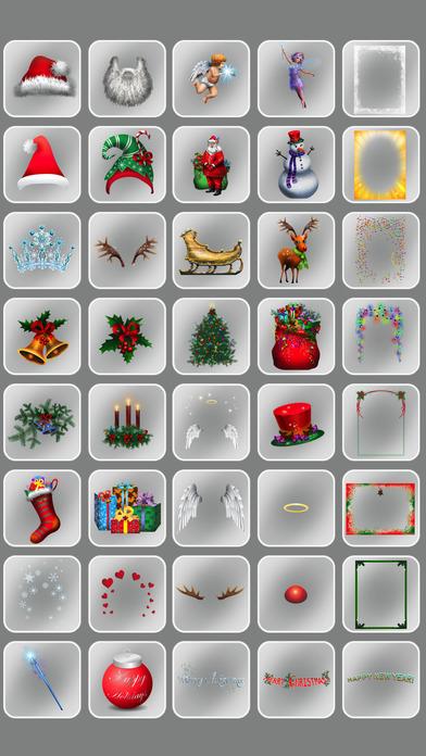 Christmas Photo Booth iPhone Screenshot 5