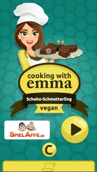 Emma Cooking: Chocolate Butterfly Cake for birthday or wedding - Free food recipe app for kids