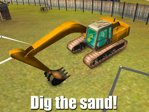 Heavy Excavator Driver Simulator 3D Screenshots