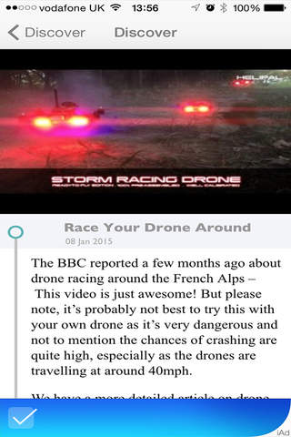 Drone Blog screenshot 1