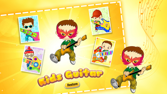 Kids Guitar Zone - First Baby Musical String Toy